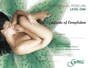 Сертификат Gena