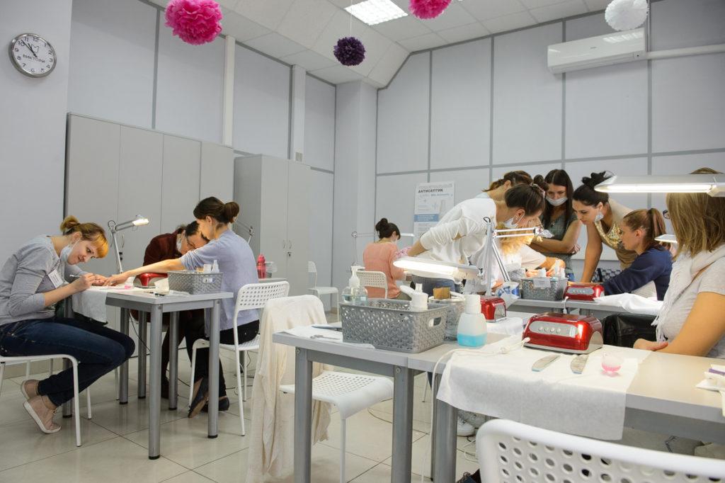 Учебный процесс в Школе ВИКТОРИ