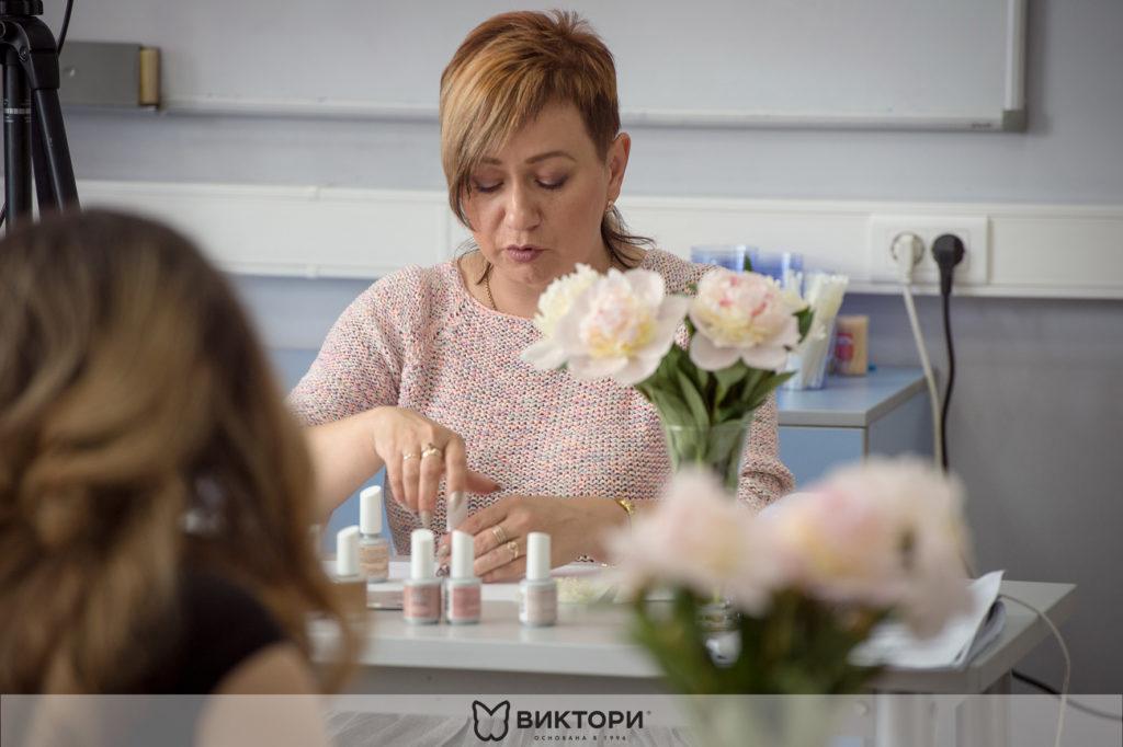 Мастер-класс преподавателя Учебного Центра ВИКТОРИ Екатерины Соколовой