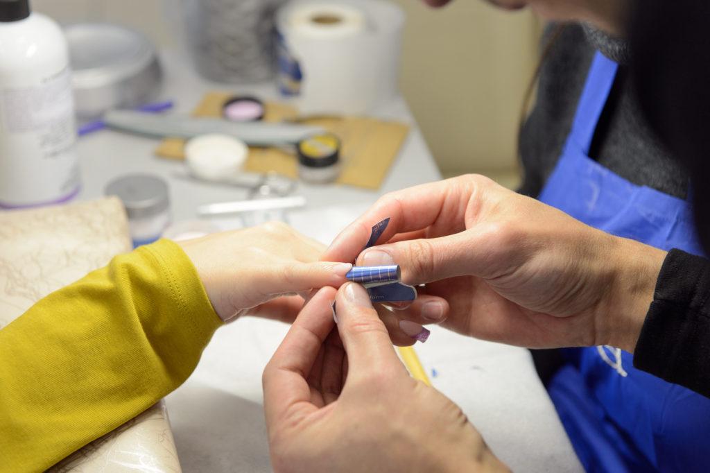 Курс повышения квалификации по моделированию ногтей.